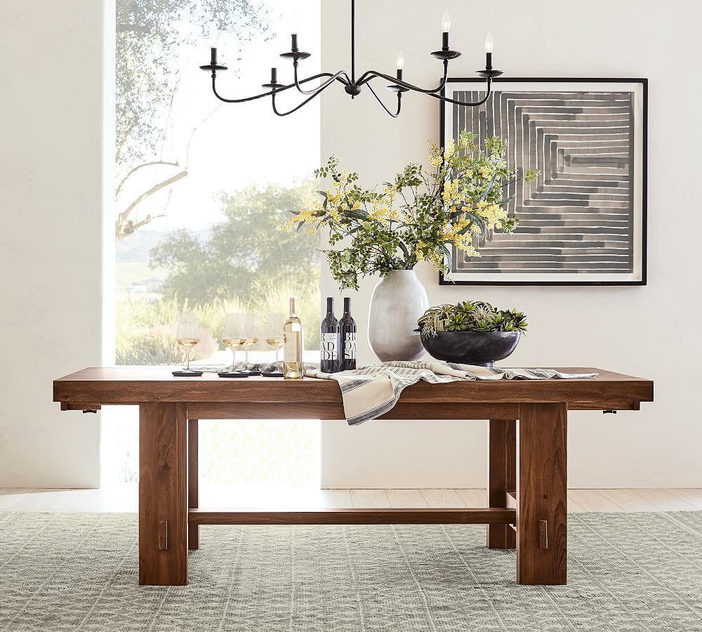 Menlo Reclaimed Wood Extending Dining Table (218 - 310 cm)