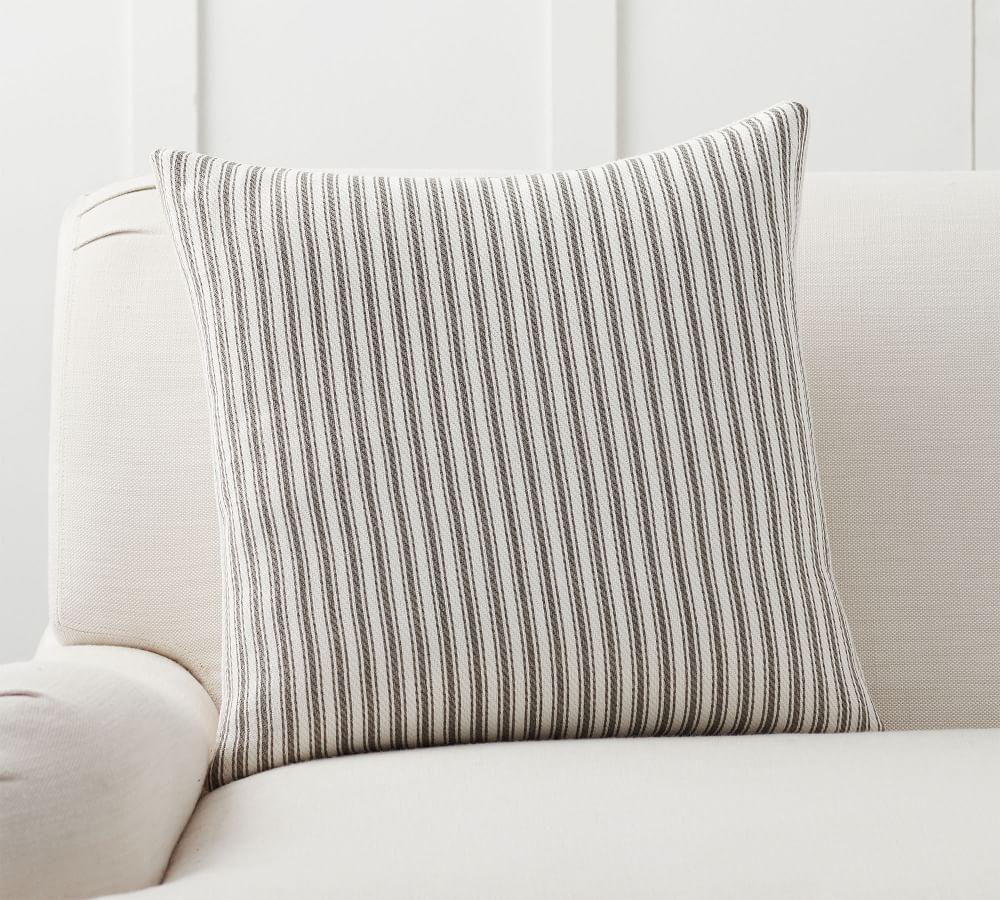 Culver Reversible Stripe Grainsack Cushion Cover