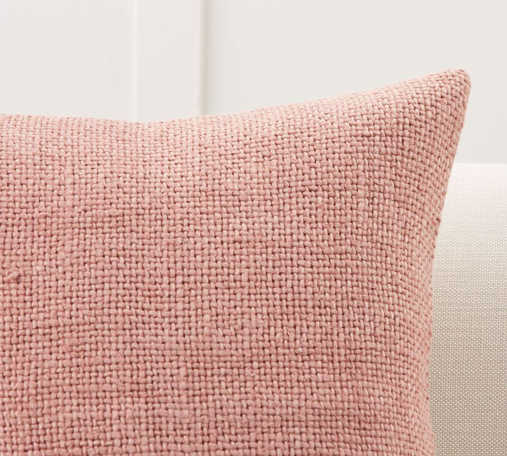 Faye Textured Linen Cushion Cover