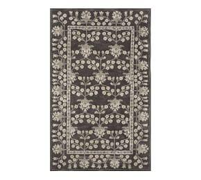 Kennedy Persian Rug - Charcoal Multi