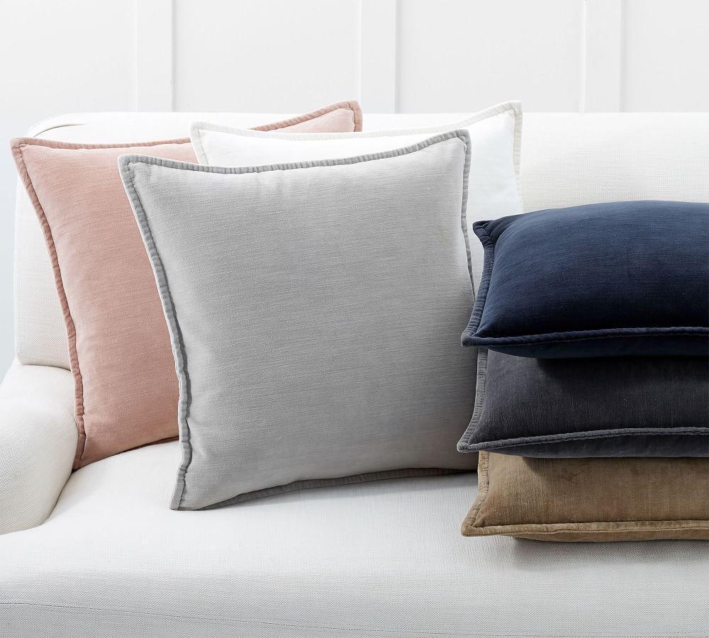 Washed Velvet Cushion Cover