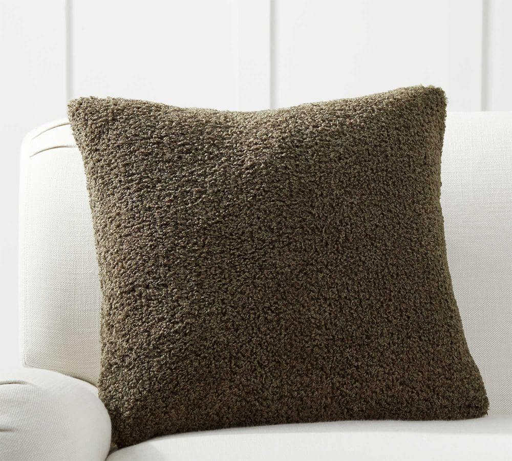 Cosy Faux Fur Teddy Cushion Cover