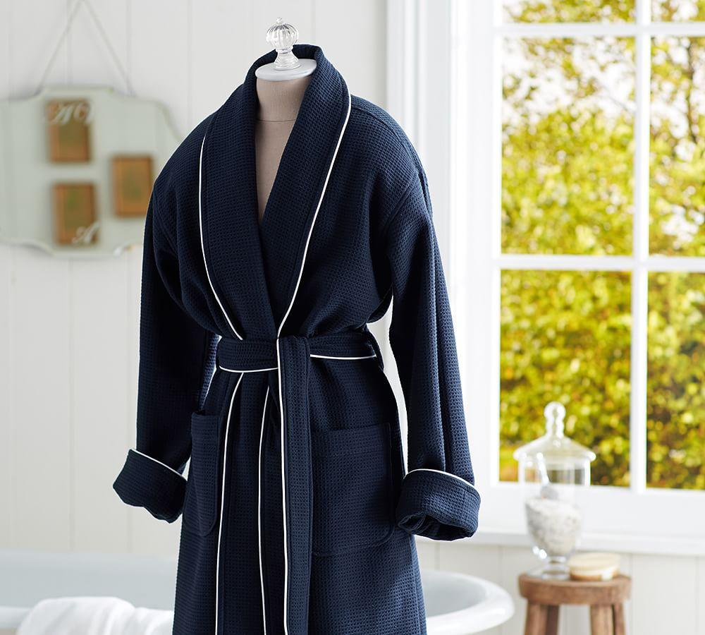 Hotel Piped Trim Robe