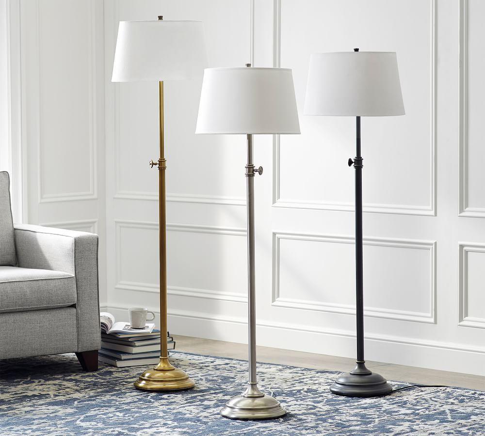 Chelsea Adjustable Floor Lamp Base
