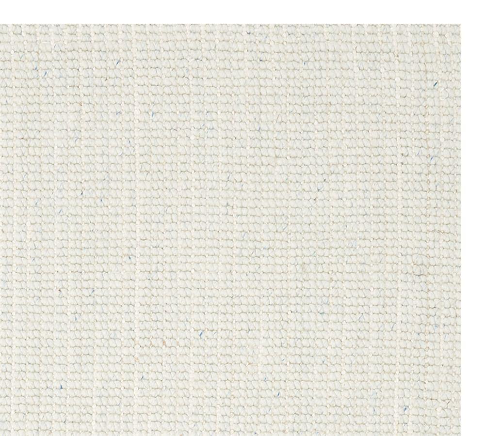 Chunky Wool Jute Rug - Chambray