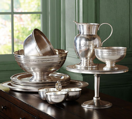 Antique Silver Serveware