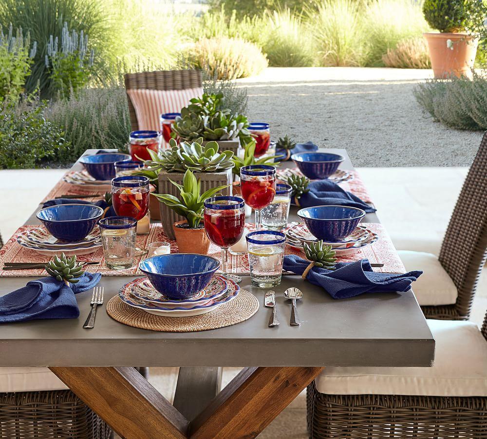Del Sol Melamine Dinner Plate - Pink