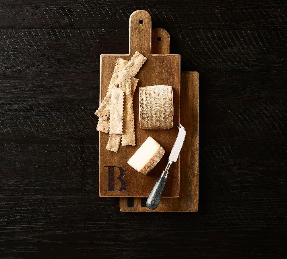 Alphabet Wood Cheese Boards