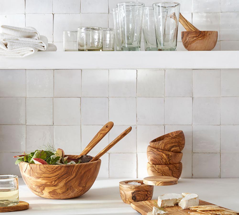 Olive Wood Salt Cellar