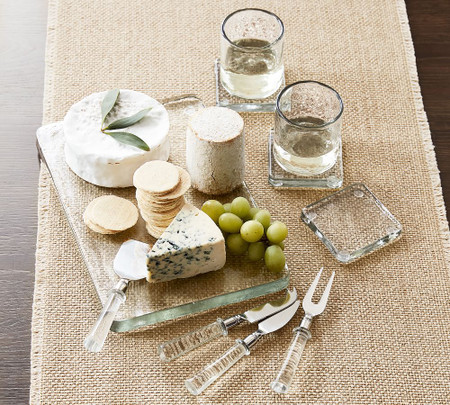 Slab Glass Serveware