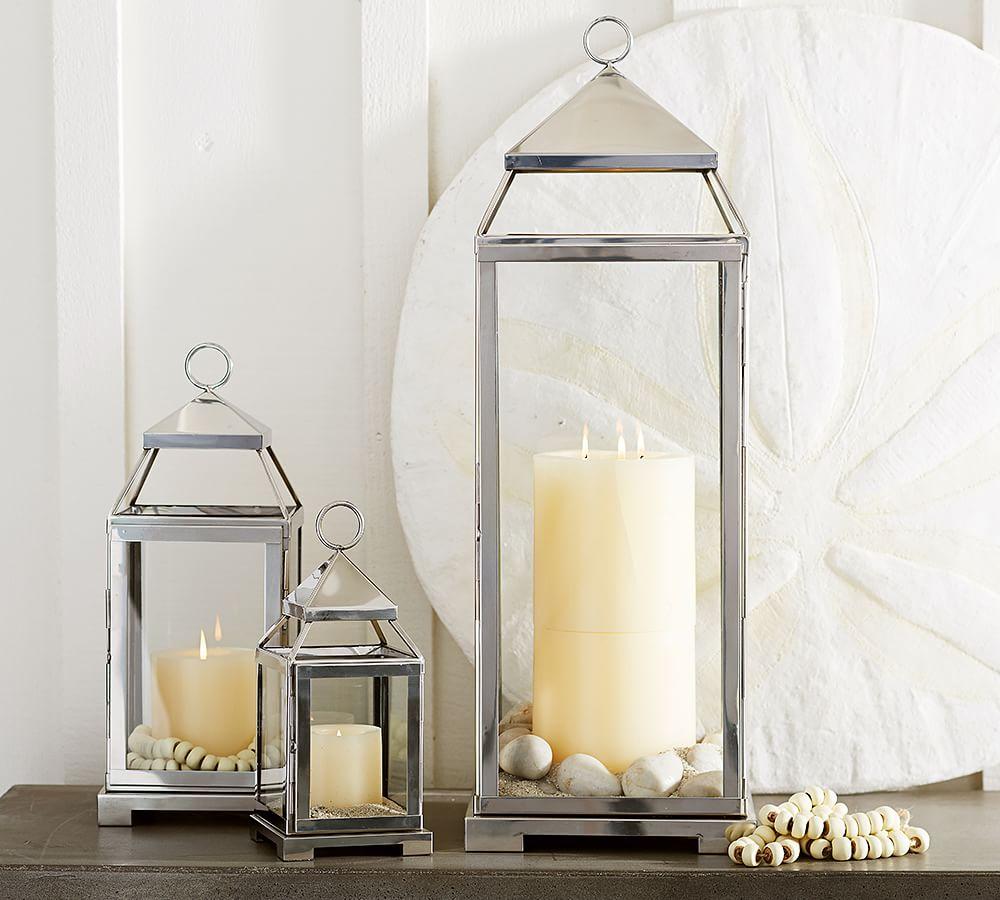 Malta Lantern - Silver