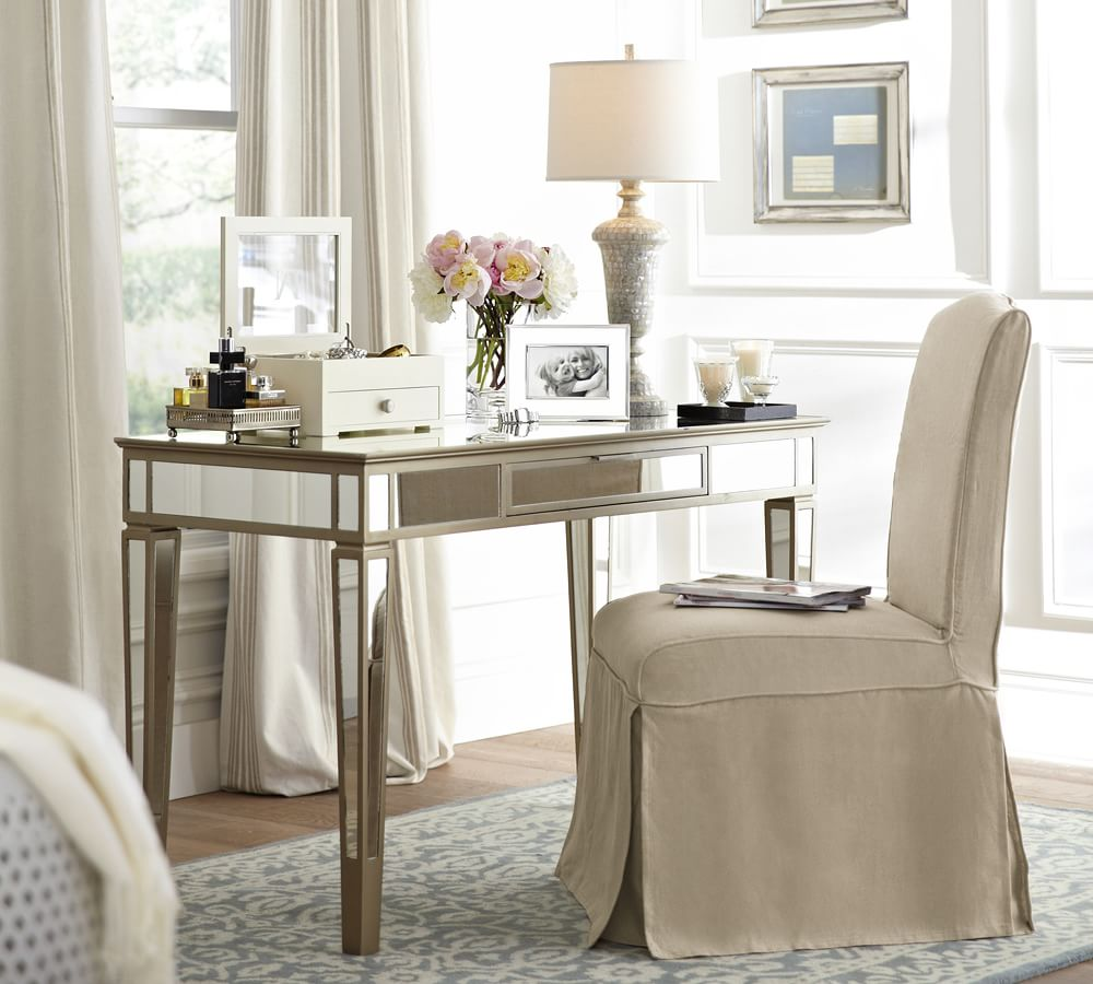 Park Mirrored Desk Pottery Barn Au