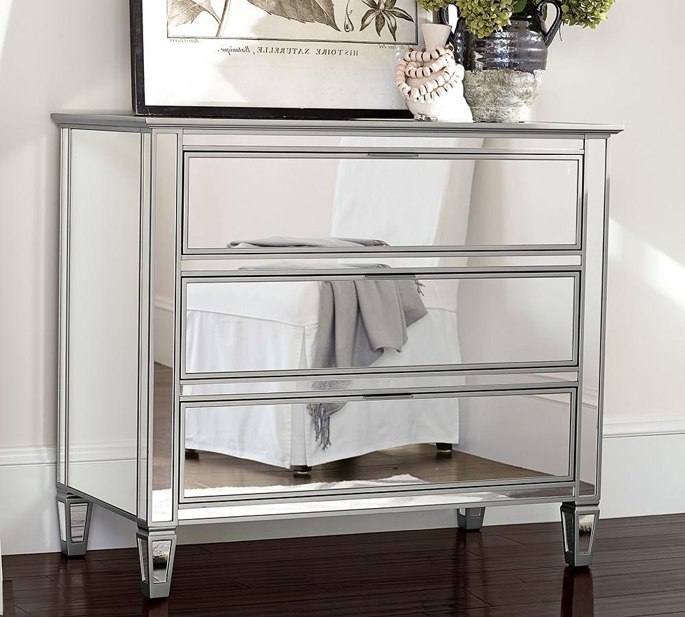 Park Mirrored Dresser Pottery Barn Au