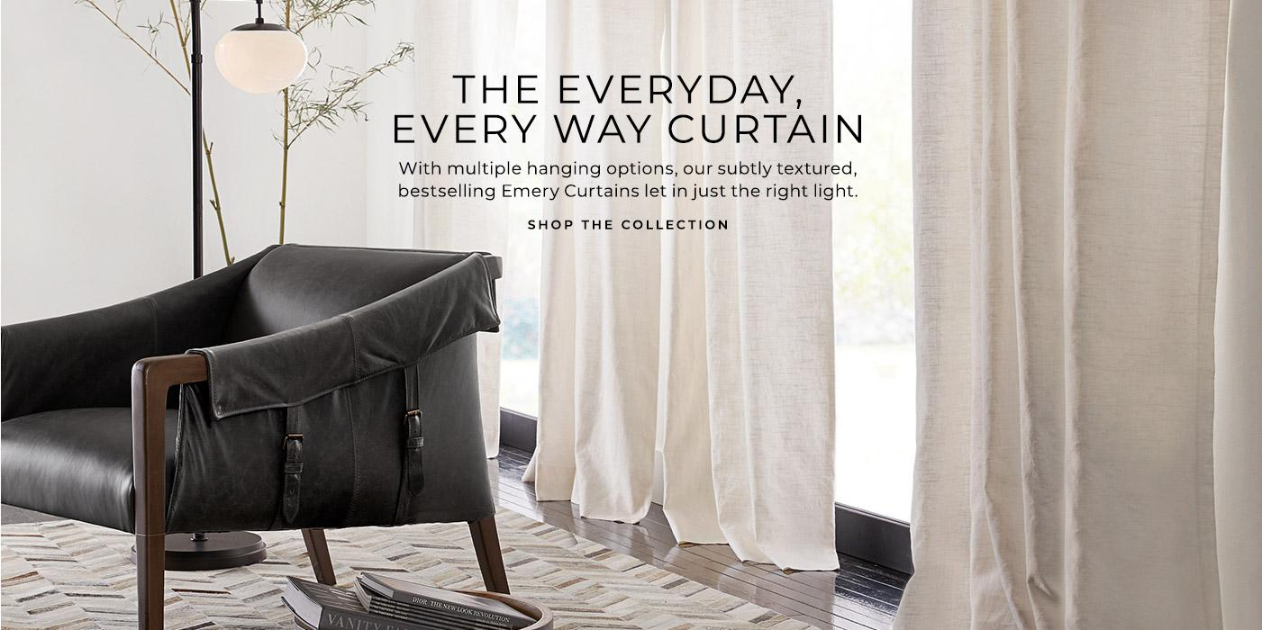 Shop Bestseller - Emery Curtains