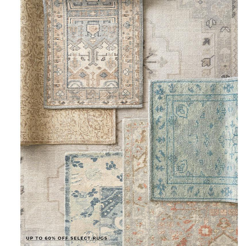 Up to 60% Off Select Rugs