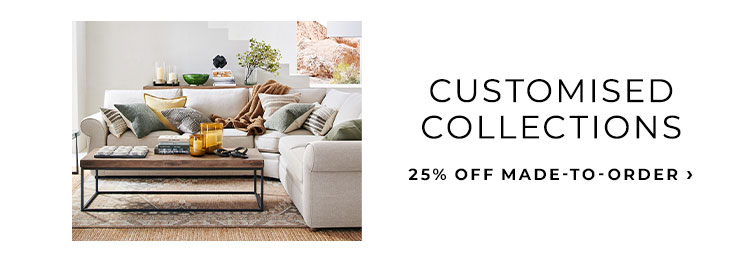 25% Off Made-to-Order