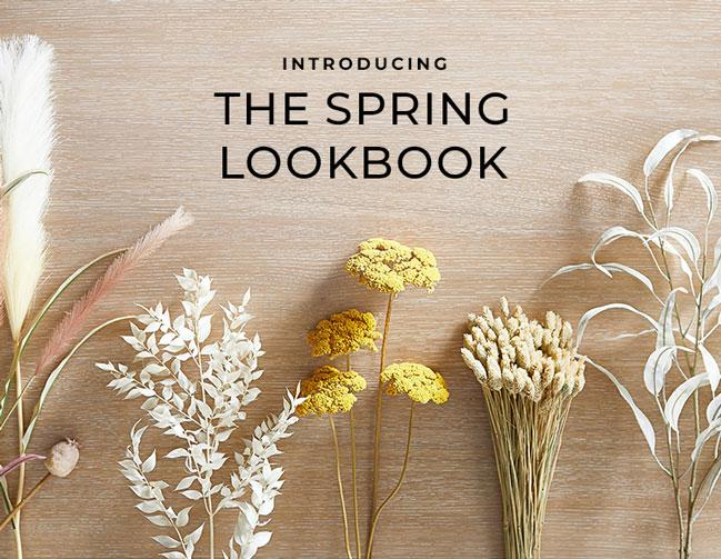 Introducing the Spring Lookbook