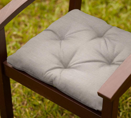 Tufted Sunbrella®; Outdoor Dining Chair Cushion