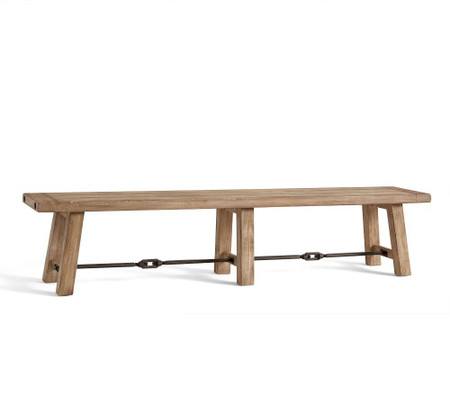 Benchwright Dining Bench - Seadrift