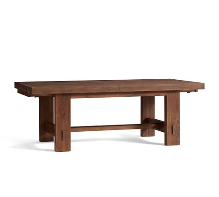 Menlo Reclaimed Wood Extending Dining Table - Camden Teak (218 - 310 cm)