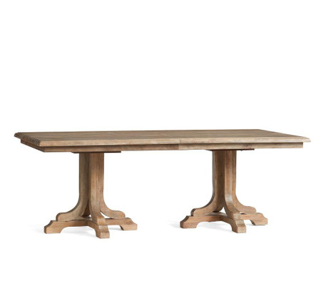 Linden Extending Dining Table - Belgian Grey (218 - 264 cm)