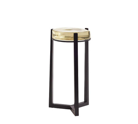 Cori Glass Side Table
