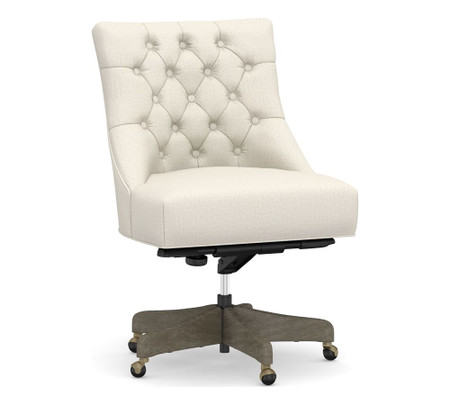 Hayes Tufted Swivel Desk Chair