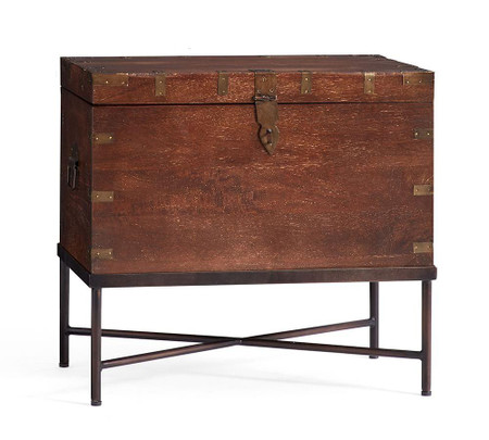 Timor Wood Trunk Side Table