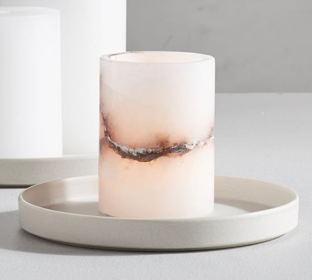 Handcrafted Alabaster Votive Holder