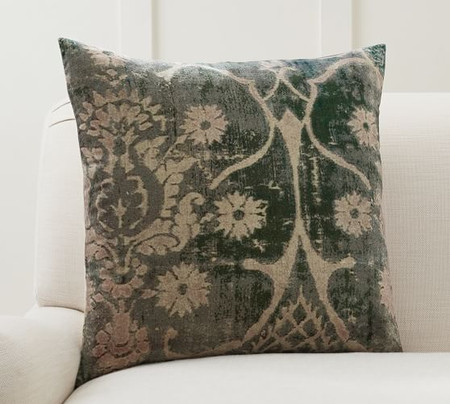 Amelia Printed Velvet Cushion Cover