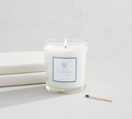 Apothecary Scented Candle - Linen Cashmere