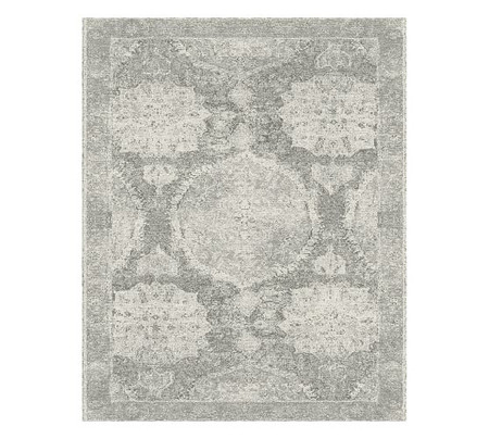 Barret Printed Rug - Grey