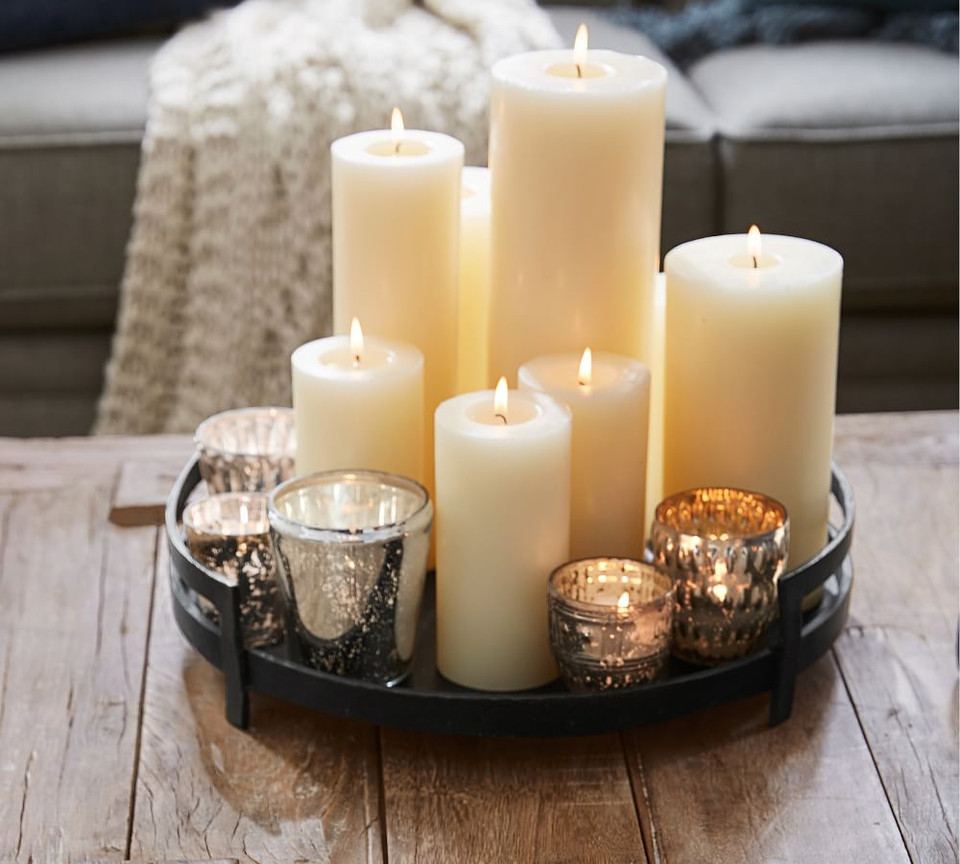 Barrett Cast Candle Tray