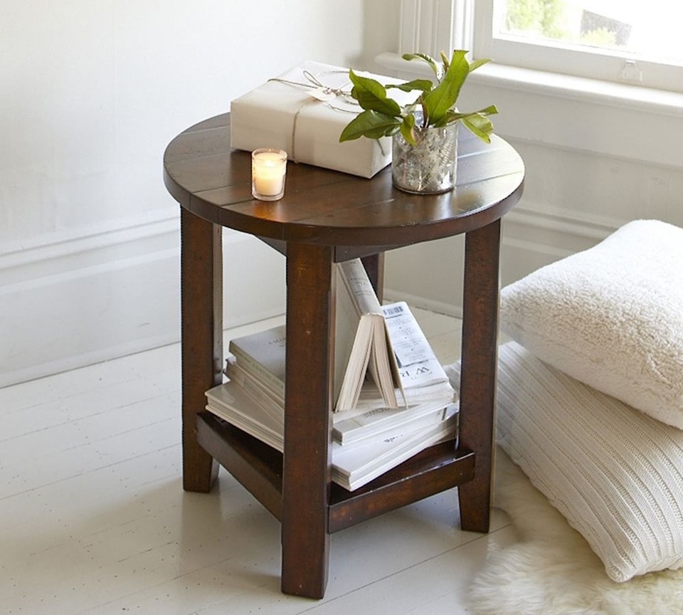 Benchwright Round End Table