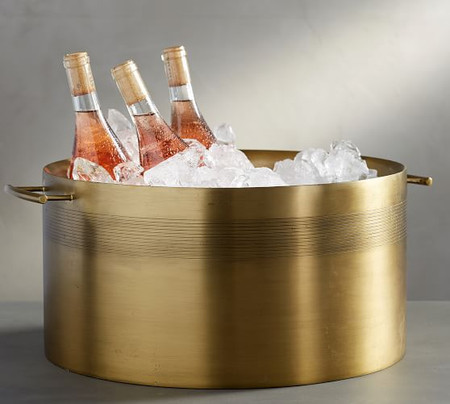 Bleecker Stainless Steel Party Bucket