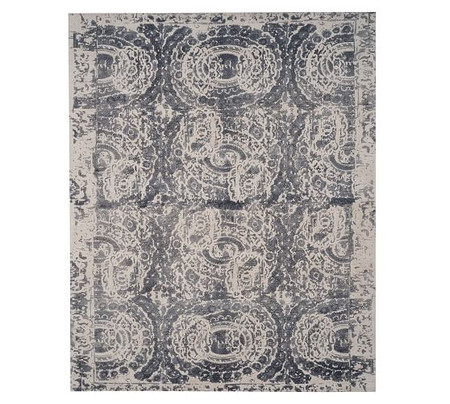 Bosworth Printed Rug - Grey