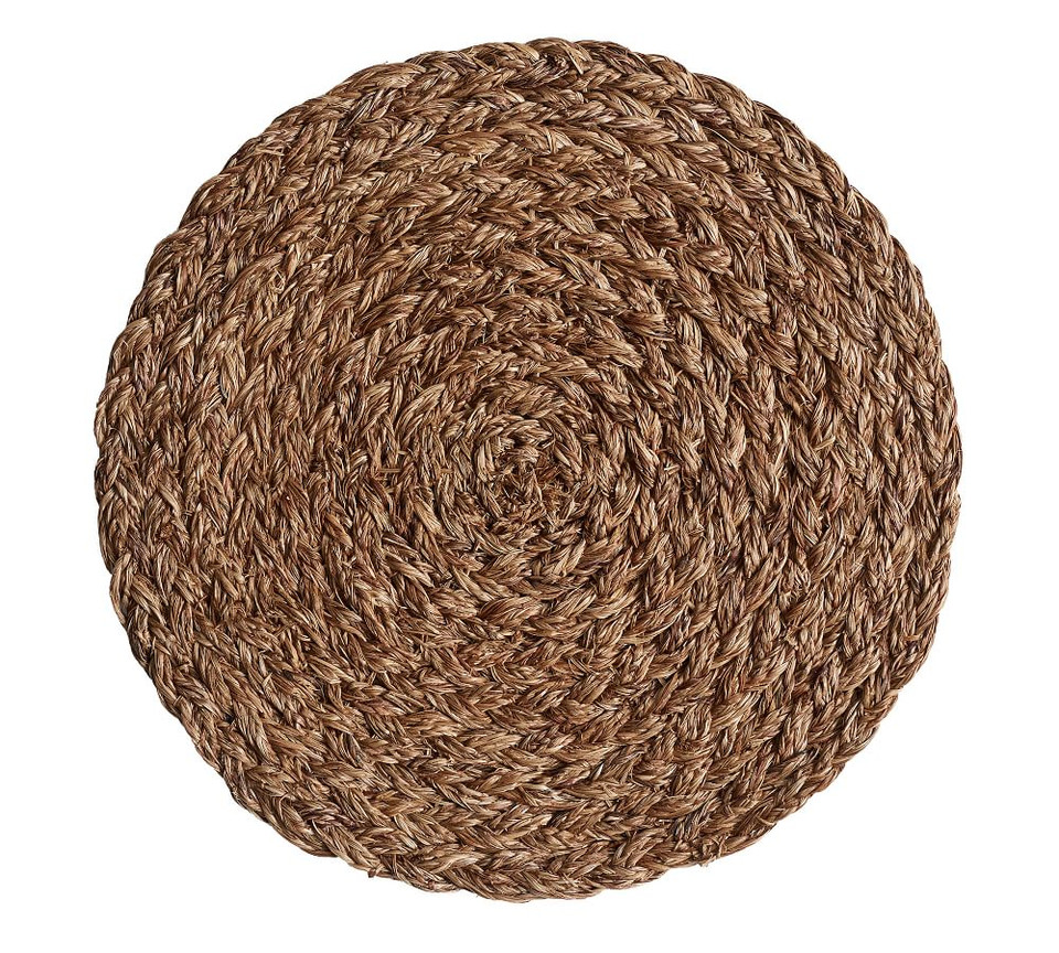 Braided Abaca Charger Pottery Barn Australia