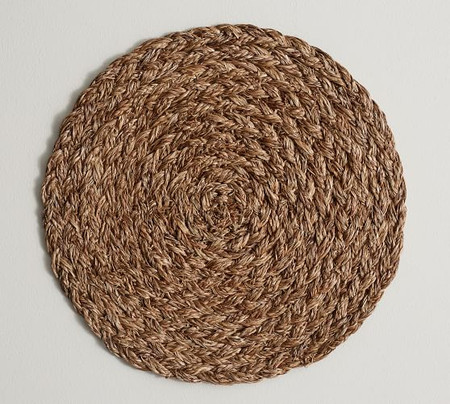 Braided Abaca Charger