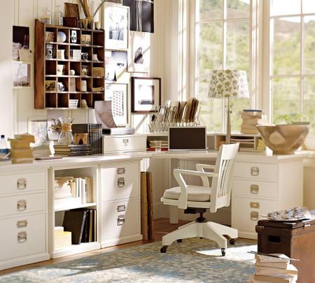 Build Your Own Bedford Modular Desk Pottery Barn Australia