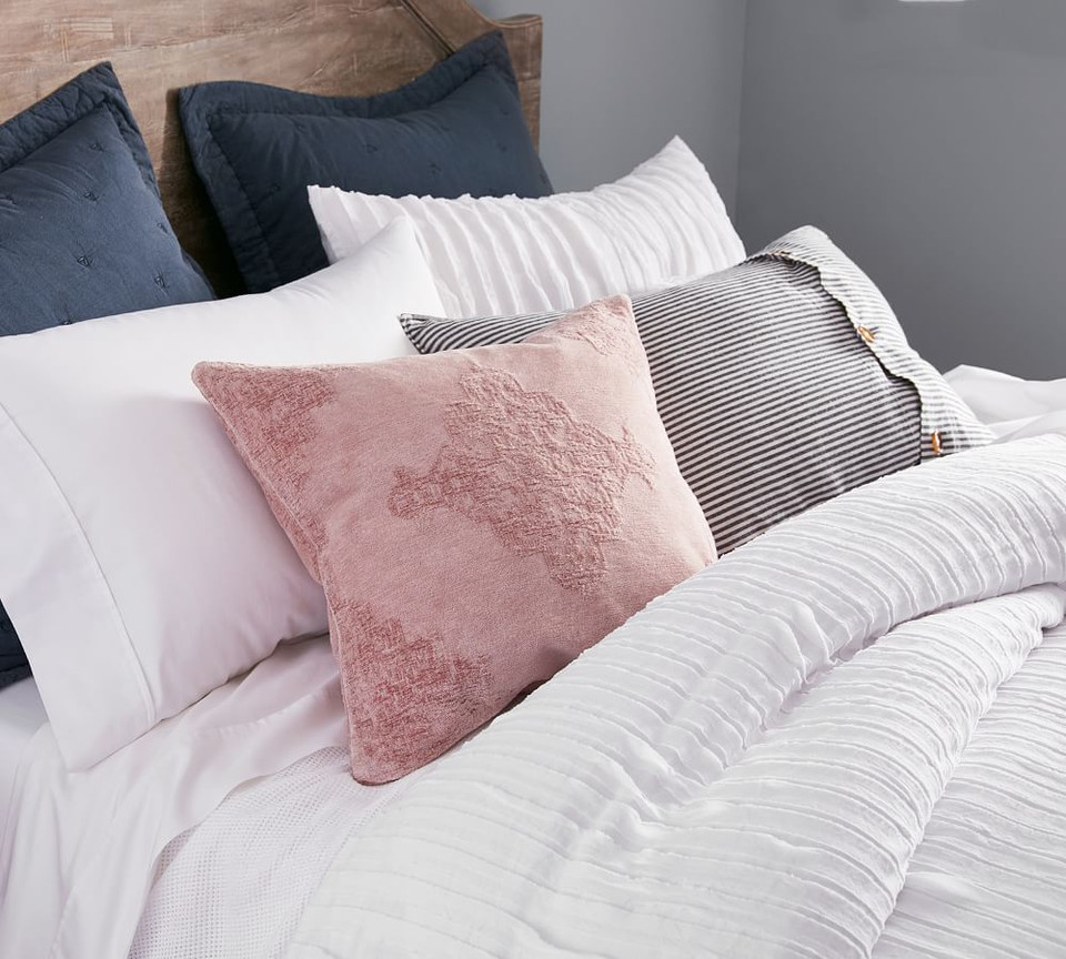 Camille Cotton Quilt Cover & Pillowcases
