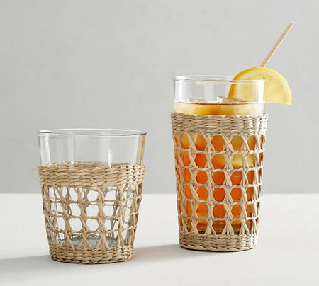 Cane Drinking Glasses