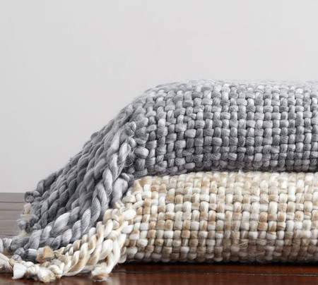 Carolee Handwoven Throw