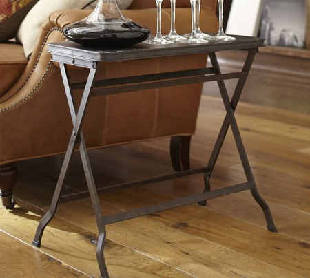 Carter Metal Folding Tray Table