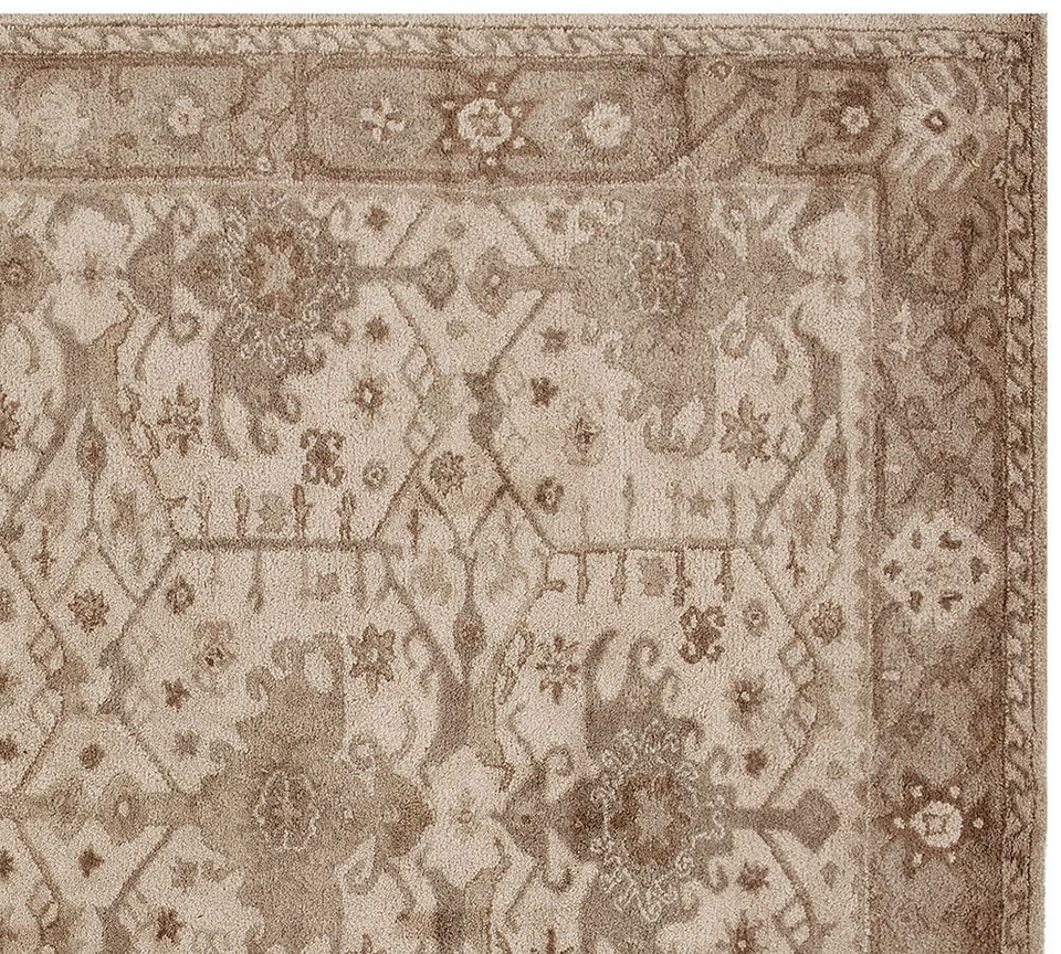 Channing Persian Style Rug Neutral Pottery Barn Australia