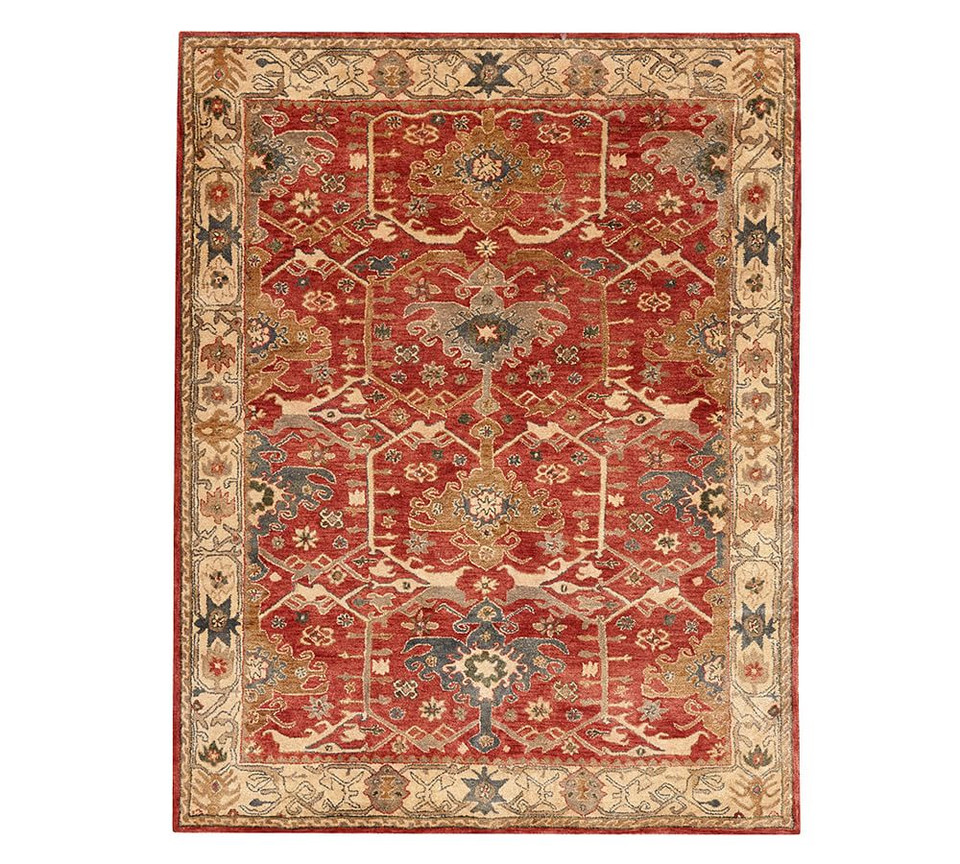 Channing Persian-Style Rug - Red Multi