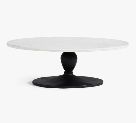 Chapman Marble Oval Coffee Table