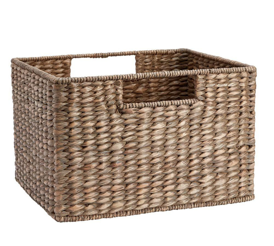 Charleston Utility Baskets, Grey