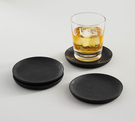 Chateau Acacia Wood Coasters, Set of 4