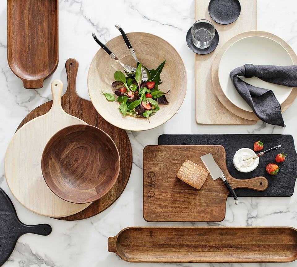 Chateau Wooden Salad Bowls