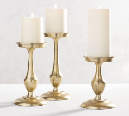 Chester Brushed Candleholders